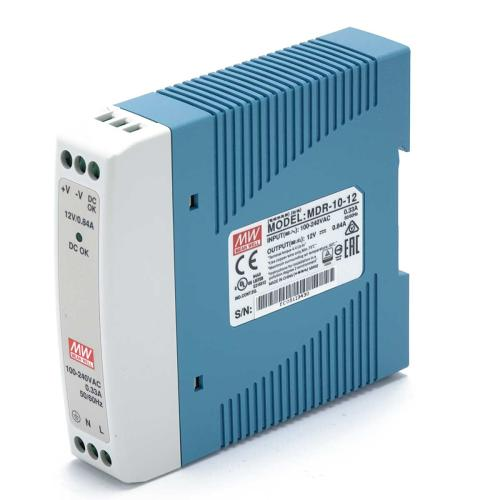 DIN-RAIL Power supply 12V 0,84 Meanwell MDR-10-12