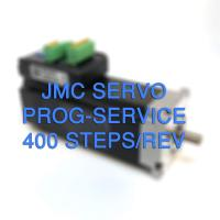 JMC servo motor programming to 400 steps/rev